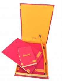92973 Rhodia ColoR Premium Treasure Box - Raspberry Open #1
