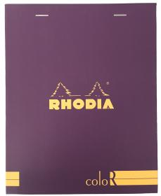 92970 Rhodia ColoR Premium Treasure Box - Violet Closed