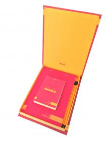 92970 Rhodia ColoR Premium Treasure Box - Raspberry Open #2