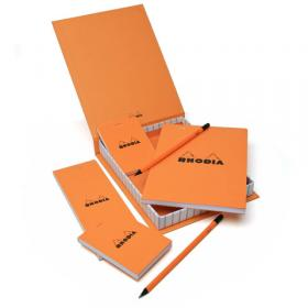 9200 Rhodia Classic Orange Notepads - Opened #2