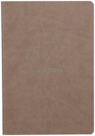 1164/54 Rhodia Rhodiarama Sewn Spine Notebook - Taupe