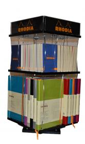 200201 Rhodia Plexiglas Goalbook and ColoR Notepad