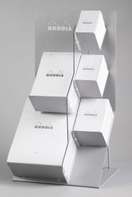 201000 Rhodia Ice Countertop Metal Display