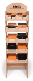 21000 Rhodia Wood Floor Display