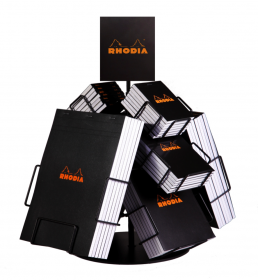 223000 Rhodia Metalic Volcano Countertop Display