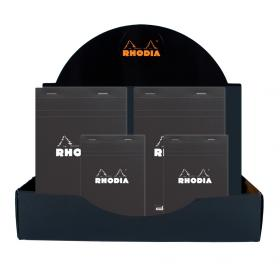 Rhodia black DOT display