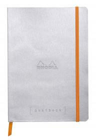 1177/41 Rhodia Goalbook Silver