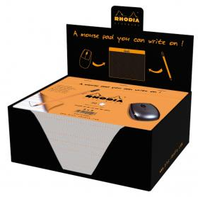 19410 Rhodia Mouse Pad - Display
