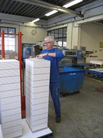 Papierfabriek Schut - Blocs Cutting